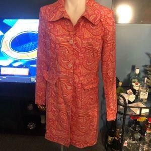 Express paisley coat